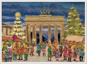 Brandenburger Tor Berlin Papieradventskalender