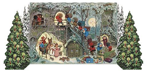 Adventskalender Zwergleins Weihnacht: Faltkalender zum Aufstellen.