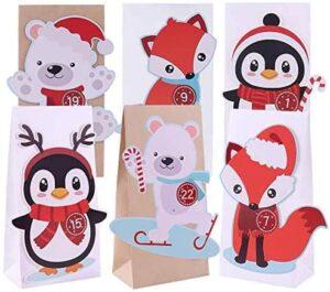 The Spirit Store DIY Adventskalender zum Befüllen für Kinder