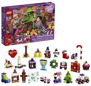 LEGO Friends - Adventskalender mit Weihnachtsschmuck
