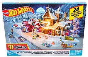 Hot Wheels FKF95 - Adventskalender mit Spielzeugautos
