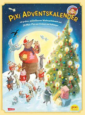 amazon Pixi Adventskalender mit Weihnachtsbaum 2018