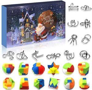 Devis Knobelspiele Spielzeug Adventskalender