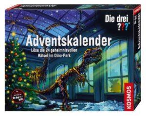 Die drei Fragezeichen Adventskalender Dino-Park