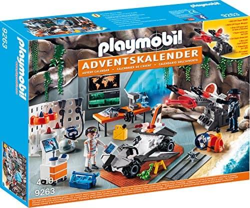 Playmobil Adventskalender 9263 Spy Team Werkstatt