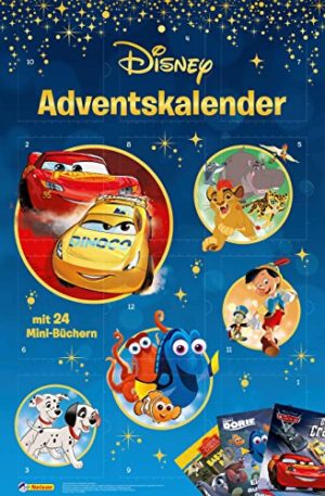 amazon Disney Minibuch Adventskalender 2019