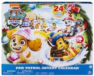PAW Patrol Adventskalender 24 hochwertige Kunsstoff Figuren