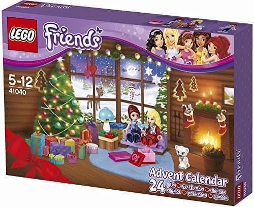 LEGO Friends 41040 Adventskalender Minifigur Mädchen Weihnachten Geschenk NISB