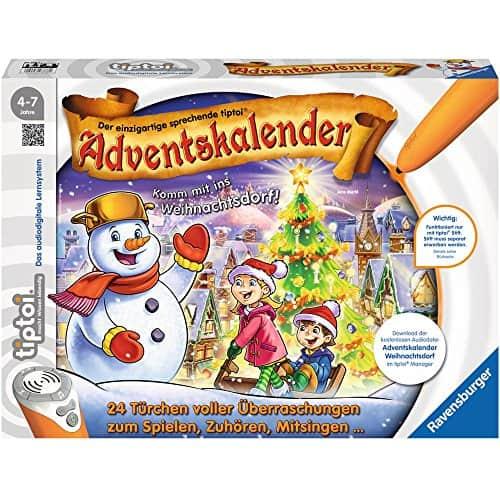 Adventskalender Ravensburger Tiptoi WeihnachtsdorfL 2017