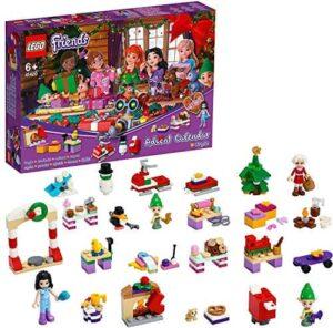 LEGO 41420 Friends Adventskalender 2020, Weihnachten Mini Bauset mit Emma, Elfen und Santa Workshop – detail 2