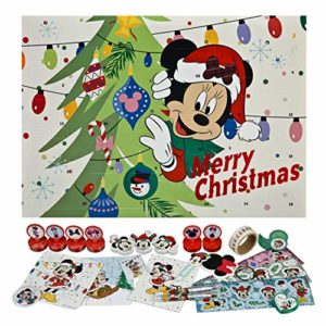 Minnie Mouse Schreibwaren-Adventskalender