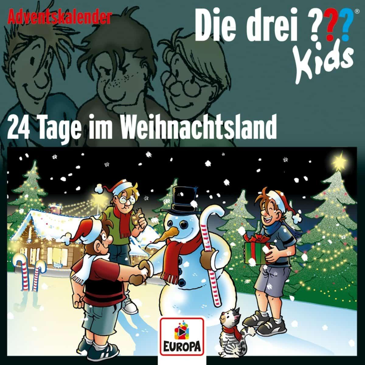 Die drei Kids - Hörbuch-Adventskalender