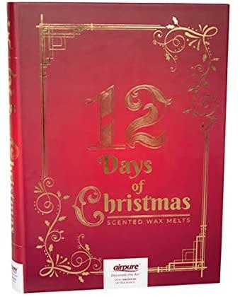 Duftwachs Adventskalender Airpure 12 Tage Weihnachten