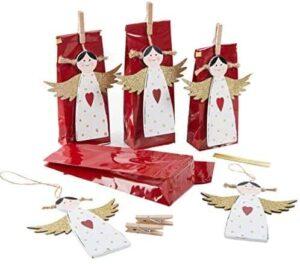 Verpackungsset mit weihnachtlichen Engel ge 510XeWe9ZBL. AC