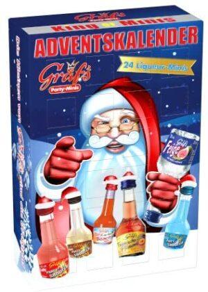 Gräfs Adventskalender mit Mini-Likören