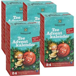 Tee-Adventskalender im 4er Pack