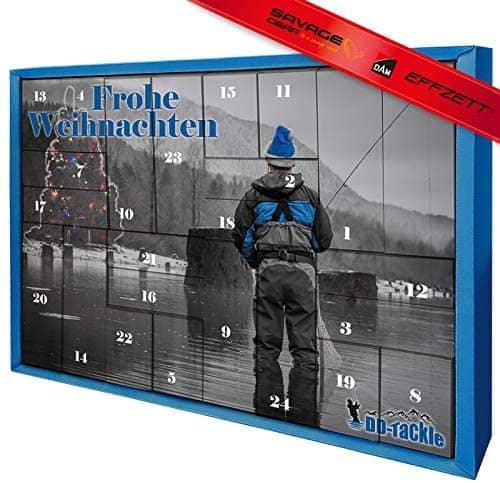 DD-Tackle XXL Adventskalender 62,5x45x8,5cm Weihnachtskalender