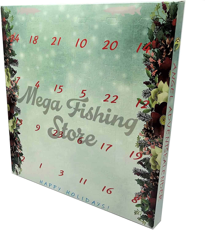 Mega Fishing Angler Adventskalender - Angel Tackle & Zubehör