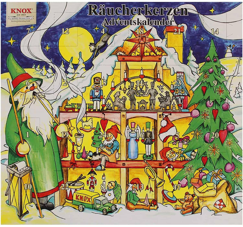Knox Räucherkerzen Adventskalender