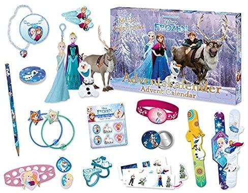 Craze 52083 – Adventskalender Walt Disney Die Eiskönigin