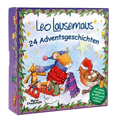 Die Adventsbox – Leo Lausemaus: 24 Adventsgeschichten
