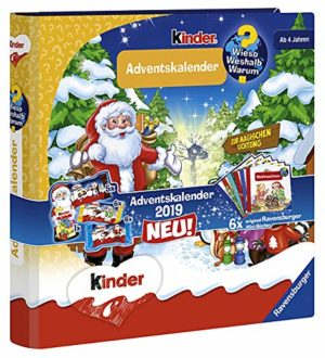 Kinder Mix & Ravensburger Vorlesekalender