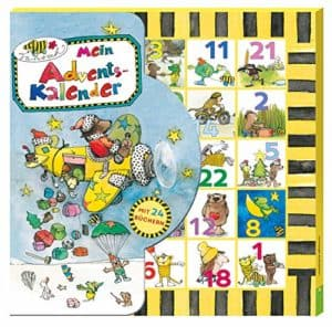 Janosch Mein Adventskalender: Mit 24 Büchlein in Kalender-Box