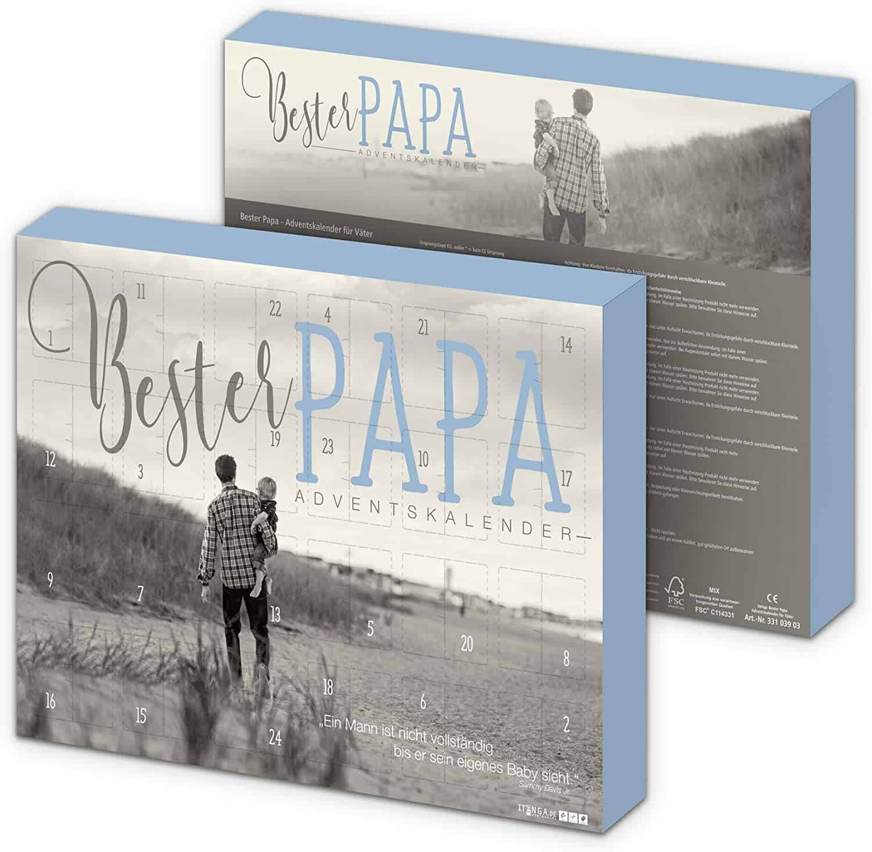 itenga Adventskalender 2020 Bester Papa