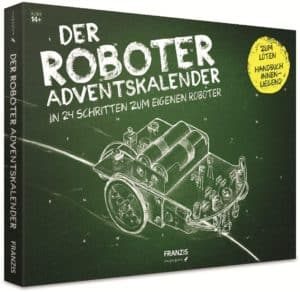 FRANZIS Roboter-Adventskalender, zum eigenen Roboter