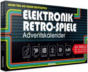 FRANZIS Elektronik Retro Spiele Adventskalender für Männer