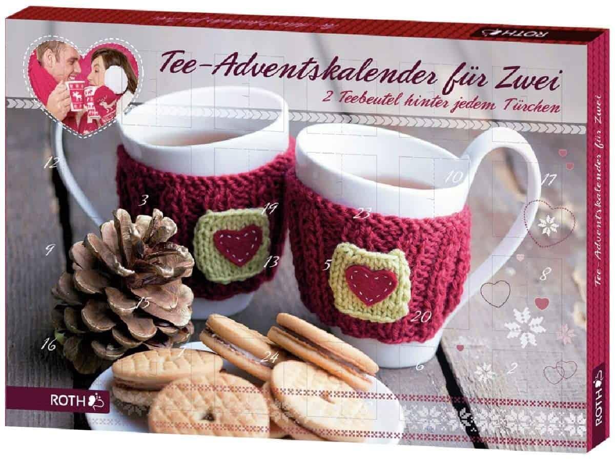 Adventskalender Tee für Zwei