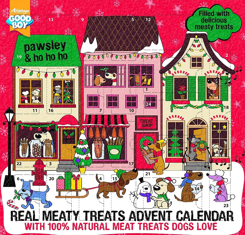 Good Boy Meaty Treats Adventskalender