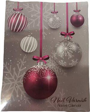 Advent Calendar Adventskalender Nagellack Kaufhof 24 x 4 ml (24 tolle Farben)