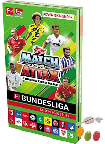Serie 2 Topps Match Attax Bundesliga 2020/2021 - Fußball Adventskalender