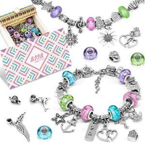 BIIB Geschenke für Mädchen - Charm Armband Kit DIY