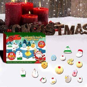 Adventskalender 2020 für Kinder, Weihnachts-Countdown-Kalender Spielzeug für Mädchen Jungen