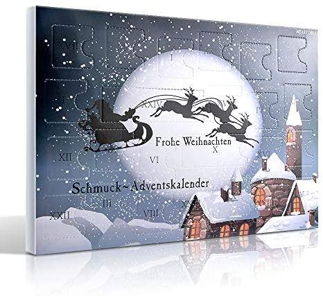 MJARTORIA Schmuck Adventskalender 2020