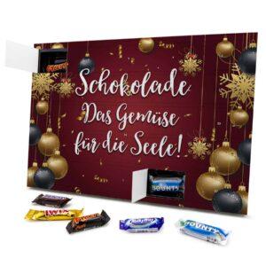 Schokolade Das Gemüse für die Seele! 434153 AKM 0001 00024 1