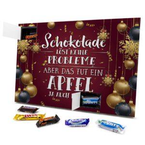 Schokolade Löst keine Probleme Aber das Tut ein Apfel ja auch nicht 434153 AKM 0001 00032 1