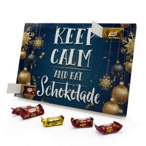 Keep Calm and eat Schokolade 787725 AKZ 0001 00017 1