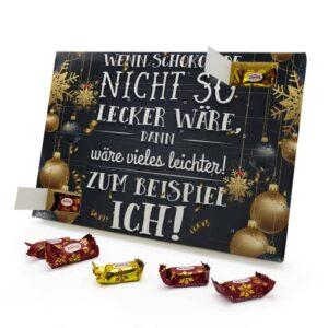 Wenn Schokolade nicht so lecker wäre, dann wäre vieles leichter! Zum Beispiel ich! 787725 AKZ 0001 00018 1