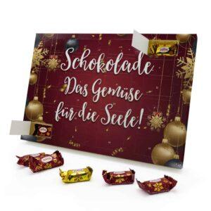 Schokolade Das Gemüse für die Seele! 787725 AKZ 0001 00024 1