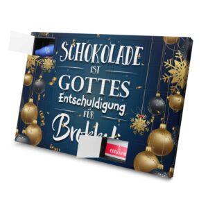 Schokolade ist Gottes Entschuldigung für Brokkoli 971024 AKS 0001 00013 1
