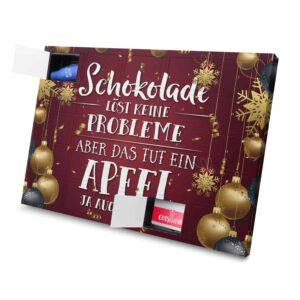 Schokolade Löst keine Probleme Aber das Tut ein Apfel ja auch nicht 971024 AKS 0001 00032 1