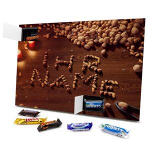 Mixed Minis Adventskalender mit eigenem Namen personalisieren - Motiv Nüsse Mixed Minis Adventskalender 1043 1 1