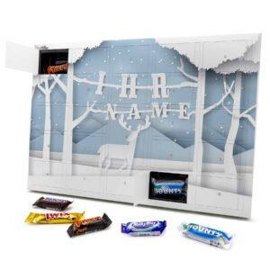 Mixed Minis Adventskalender mit eigenem Namen personalisieren - Motiv Papierschnitt Mixed Minis Adventskalender 2824 1 1