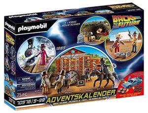 PLAYMOBIL Adventskalender Back To The Future III Adventskalender 2021 51SHV