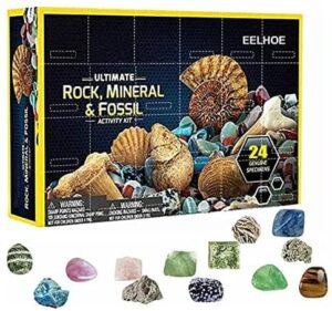 Geographic Gesteins Mineral & Fossil Adventskalender 2021