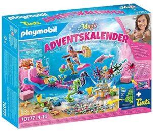 PLAYMOBIL Adventskalender Badespaß Meerjungfrauen Adventskalender 2021 61nhWE13BSS