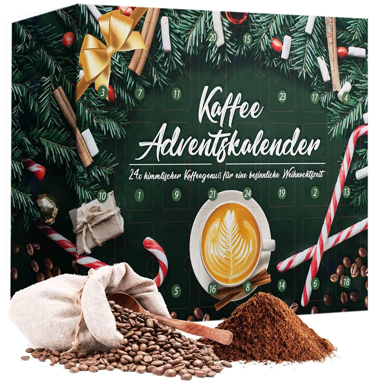 Adventskalender 2021 Kaffee mit 24 Türchen